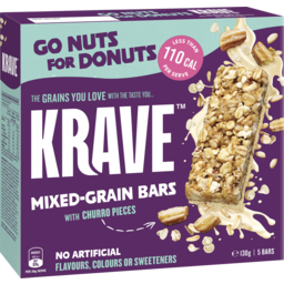 Photo of Krave Bars Go Nuts For Donuts 5p
