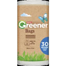 Photo of Multix Greener Degradable Bags Medium 30 Pack