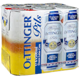 Photo of Oettinger Pilsner Can 6 x 500ml Cans