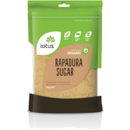 Photo of Lotus Sugar Rapadura Org 375gm