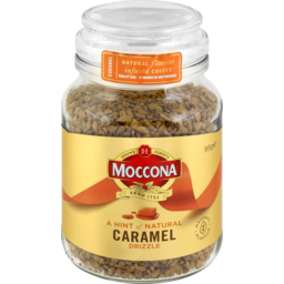 Photo of Moccona Caramel Flavour Infused Freeze Dried Coffee 95g