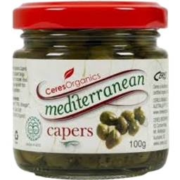 Photo of Ceres Organics - Capers In Vinegar - 100g