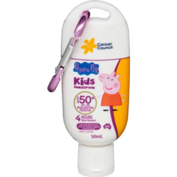 Photo of Cancer Council Sunscreen Peppa Pig 50ml