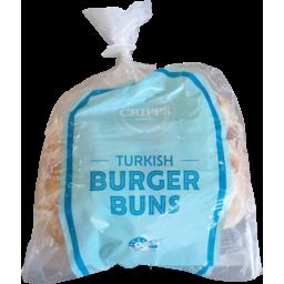 Photo of Cripps Turkish Burger Buns 4pk