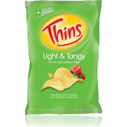 Photo of Thins Chips Light & Tangy 175gm