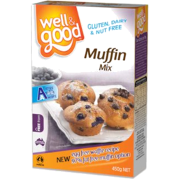 Photo of Well And Good Gluten Free Muffin Mix 400gm