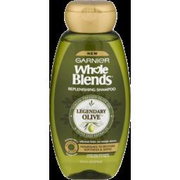Photo of Garnier Whole Blends Replenishing Shampoo Legendary Olive