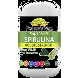 Photo of Nature's Way Super Spirulina Tabs 150