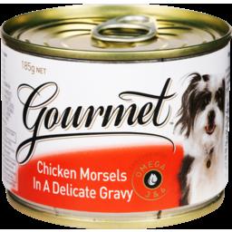 Photo of Gourmet Dog Food Chicken & Gravy 185g