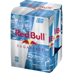 Photo of Red Bull Sugarfree 4 X 250ml Cans