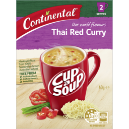 Photo of Continental Cup-A-Soup Thai Red Curry 60g