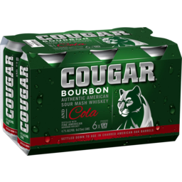Photo of Cougar&Cola Can 6*375ml
