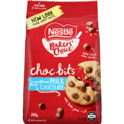 Photo of Nestle Choc Bits Baking Milk 200g