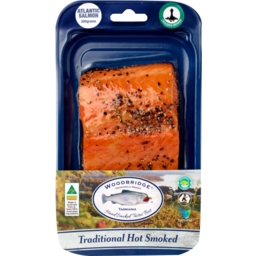 Photo of Woodbridge Hot Smoked Salmon Pepper 150g