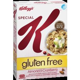 Photo of Kellogs Special K Almond & Cranberry Gluten Free 300g