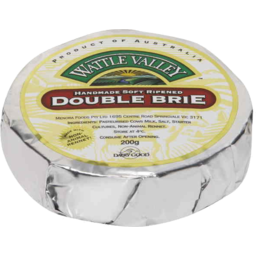 Photo of Wattle Valley Double Brie 200g