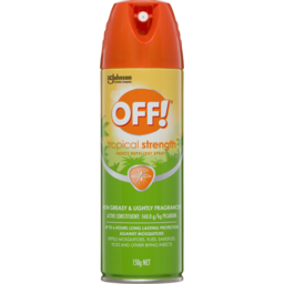 Photo of Off Tropical Insect Repellent Spray 150g