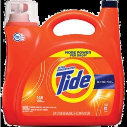 Photo of Tide Liquid He Detergent Original 146 Loads