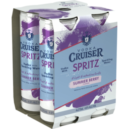 Photo of Vodka Cruiser Spritz Summer Berry Can