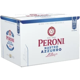 Photo of Peroni Nastro Azzurro 5.1% Bottles