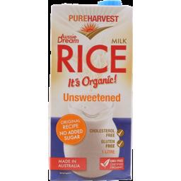 Photo of Pureharvest Unsweetened Rice Milk