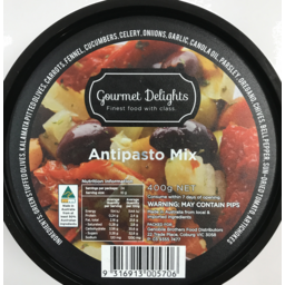 Photo of G/Del Marinated Antipasto 375gm