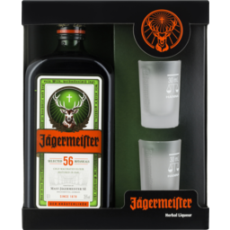 Photo of Jagermeister & Shot Glasses