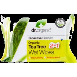 Photo of Dr Organics Tea Tree Wet Wipes 20pk