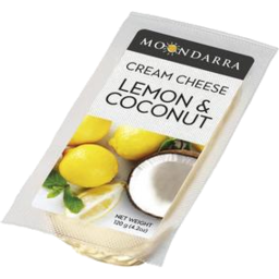 Photo of Moondarra Cheese Cream Lemon & Coconut 120ggm