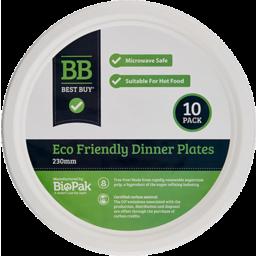 Photo of Best Buy Eco Plates Dinner 10pk
