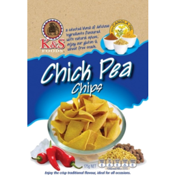 Photo of K&S Chick Pea Chips 175g