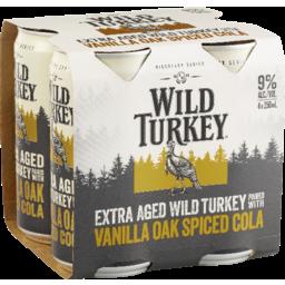 Photo of Wild Turkey Extra Aged Vanilla Oak Spiced Cola Can