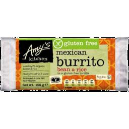 Photo of Amy's Kitchen Bean & Rice Burrito 156g