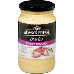 Photo of Always Fresh Garlic Minced 400gm