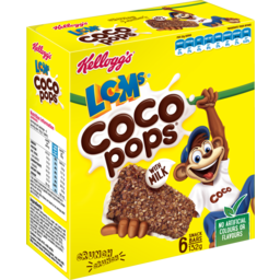 Photo of Kellogg's LCMs Coco Pops 6 Snack Bars 132g