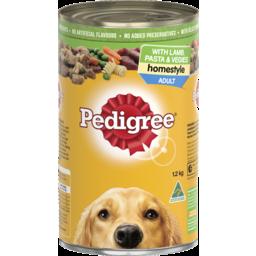 Photo of Pedigree Homestyle with Lamb Pasta & Vegies 1.2 Kg