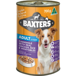Photo of Baxter's Dog Food Adult 1-7 Years Chicken Rice & Vegetable 700g