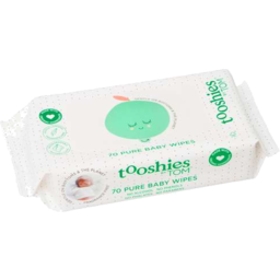 Photo of Tooshies By Tom Baby Wipe Fragrance Free 70pk