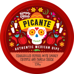 Photo of Simply Delish Picante Dip Grilled Peppers With Smokey Chipotle And Panela Cheese 170g