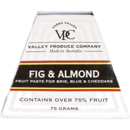 Photo of Valley Produce Co. Fig & Almond Fruit Paste 75g