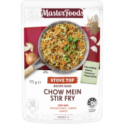 Photo of MasterFoods Chow Mein Stir Fry Recipe Base Sauce Pouch 175g