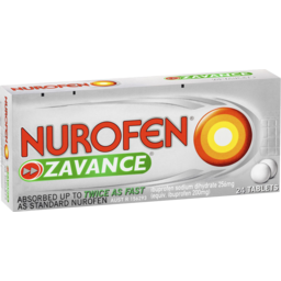 Photo of Nurofen Zavance Tablets 24s 200mg Ibuprofen Pain Relief