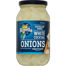 Photo of Rosella Aristocrat White Cocktail Onions 550gm