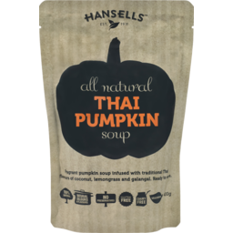 Photo of Hansells Soup Pouch Thai Pumpkin 400g