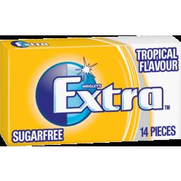 Photo of Wrigleys Extra Sugarfree Tropical Chewing Gum 14pk