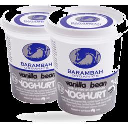 Photo of Barambah Organics Vanilla Bean Yoghurt