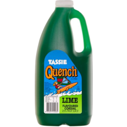 Photo of Tassie Quench Lime Cordial 2L