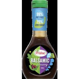 Photo of Praise 99% Fat Free Balsamic Dressing 330ml