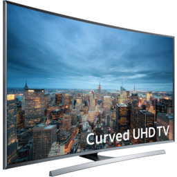 "Photo of 65"" Curved Samsung 4k Uhd Tv"