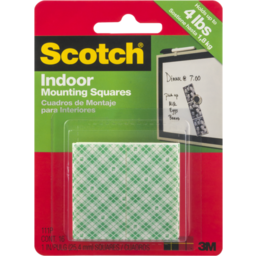 Photo of Scotch Permanent Mounting Squares - 16 Ct